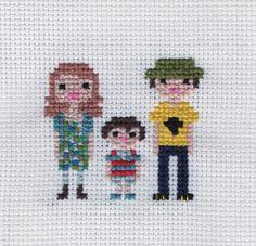 """Torrey, Lucio & Gino"" Pixel Portrait"