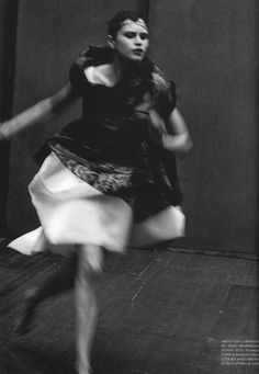 """Enchanting Mood"" by Peter Lindbergh for Vogue Italia 1997… No.3 @headswillrollbaby 