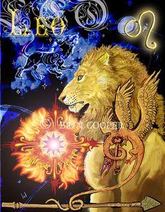 astrology artwork   leo zodiac design by shadowind digital art drawings paintings fantasy ...
