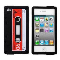 The tape cassette cell phone case