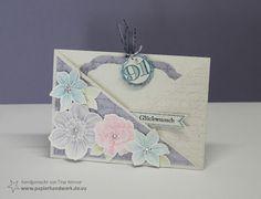- Papierhandwerk -: Anleitung Criss-Cross Karte - colourQ Challenge