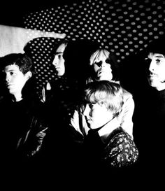 The Velvet Underground at Andy Warhol's Factory. Photo by Billy Name.
