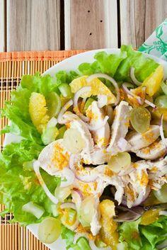 Салат с куриной грудкой и сельдереем   Диетические низкокалорийные рецепты - блюда правильного питания на Dietplan.ru