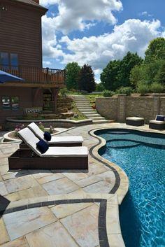 Rivenstone Paver Pool Deck