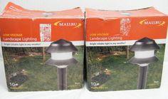 LOT of 2 NEW MALIBU INTERMATIC 10 LIGHT SET LX10610T25 in BOX 20 LIGHTS TOTAL  #Malibu