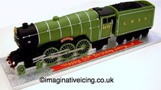 The Flying Scotsman - Steam Locomotive / Steam Train Cake