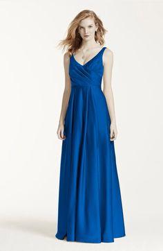 Long horizon blue dresses