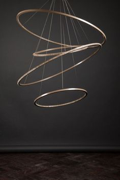 LED metal pendant lamp with dimmer LOHJA by Cameron Design House design Ian Cameron: