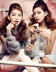Kim Jinkyung and Lee Hojeong by Han Jongchul for Style H Korea Dec 2014
