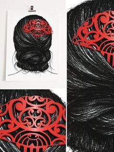 Heru Series: Heru 1 (Hair Comb) by B.W
