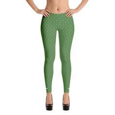 Green Weave - Leggings