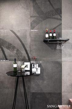 TOKA /by FONDOVALLE toka만의 독특한 패턴이 돋보이는 공간에  고급스러운 느낌을 전해주기 위해  wine bar를 꾸며보았답니다.   #tile #tiles #Sangahtile #interior #design #new #collection #floor #wall #interiordesign #space #natural #luxury #bar #wine #타일 #인테리어 #상아타일 #바닥타일 #벽타일 #카페인테리어 #빈티지 #거실 #마감재 #수입타일 #와인바#와인