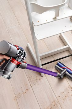 Cord-free. Lightweight. Powerful suction for versatile cleaning. #lowes #cybermonday