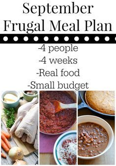 Are you trying to save money on healthy food? Try this real food frugal meal plan. Four weeks of real food for four people under $335 for the month.