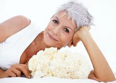 Flirty Grey Pixie - hairstyles for women with gray hair.