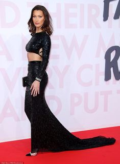 Be the belle of the ball like Bella in Julien Macdonald #DailyMail