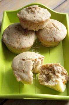 Boekweit muffins met appel en yoghurt | Francesca Kookt!
