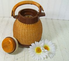 Mid Century Thermal Formed Carafe  Vintage Corning by DivineOrders, $17.00