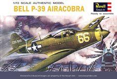 Revell P-39 Airacobra '60's box