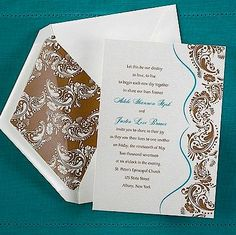 Our Destiny Wedding Invitation. Only $1.88 each when you purchase 100!