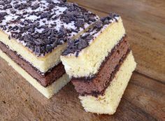 Napolitain home made Sweet Recipes, Cake Recipes, Dessert Recipes, Delicious Desserts, Yummy Food, Desserts With Biscuits, Sweet Cooking, French Desserts, Pastry Cake