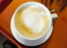 Tag des Milchkaffees in den USA – der amerikanische National Café au Lait Day: Der Latte, Usa, Tableware, Food, White Coffee, February, Dinnerware, Tablewares, Essen