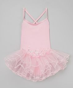 Take a look at this Pink Rose Ruffle Tutu Dress - Infant & Toddler on zulily today!