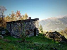 Een bijzondere trap vormt de eye catcher in deze stijlvolle cabin - Roomed