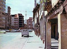 León, fotos antiguas, barrio de Santa Ana.