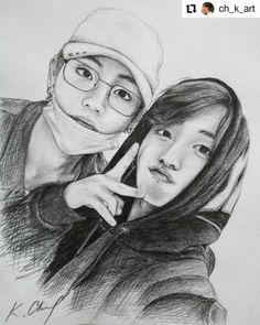 Kpop Drawings, Art Drawings Sketches Simple, Pencil Art Drawings, Realistic Drawings, Jungkook Fanart, Kpop Fanart, Watercolor Portrait Tutorial, Bts Chibi, Bts Pictures