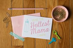 Greeting card love from Colette Paperie | www.colettepaperie.com | $4.00 per card | Use code SUPER for 15% off your order