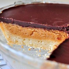 Peanut Butter Pie with sugar cookie crust