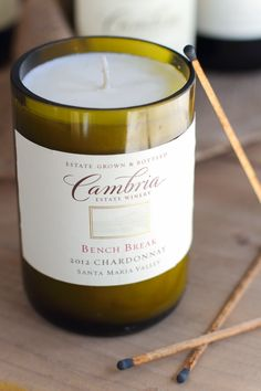❂ Ƒollow ൬e Ƒor ൬౦re↠ aliesemeyer ❂ We found the best and worst internet hacks for up-cycling your wine bottles into awesome candles. Wine Bottle Candles, Wine Bottle Corks, Wine Bottle Crafts, Bottles And Jars, Glass Bottles, Empty Bottles, Liquor Bottles, Best Candles, Diy Candles