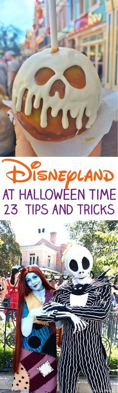 Disneyland Halloween Time Tips and Tricks - all the best things to eat, drink and see! disneyland #disney #disneyland