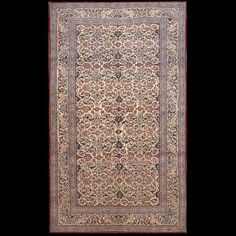 Nain Rug - 22155 | Persian Formal  Origin Persia, Circa: 1940    #antiquerug #rahmanan #persianeug #antiquerugstudio #nyc,