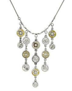 Fashionable necklace by PILGRIM Pilgrim, Danish Design, Fashion Necklace, Pendant Necklace, Crystals, Elegant, Metal, Jewelry, Classy