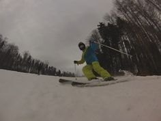 Takto lyžujem ja. ;)