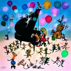 猫と少女の音楽会 Seiji Fujishiro