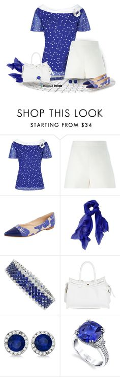 """""""Floral Pointed Shoes (Outfit Only)"""" by eula-eldridge-tolliver ❤ liked on Polyvore featuring Jacques Vert, Valentino, Dolce Lei, Zagliani, Allurez and Harry Kotlar"""