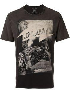 10e21d05d5fb1 John John Camiseta com estampa Marcas De Roupas Masculinas