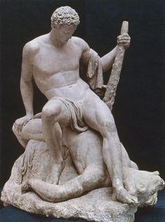 Antonio Canova, Theseus and the Minotaur, 1781-3