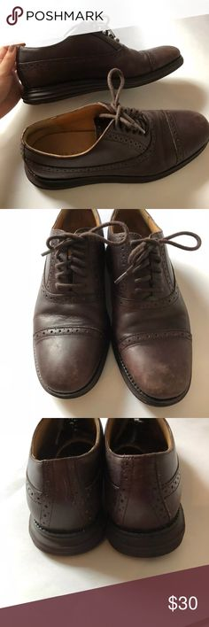 a819a7dd89d Cole Hana LunarGrand Oxford Dress Shoes Size 7 Cole Haan LunarGrand Wingtip  Oxford Dress Shoes Size Great pre-owned condition with just a little bit of  wear ...