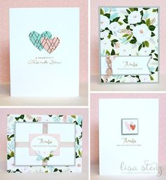 Lisa's Creative Corner: February Project Kit - Hello Lovely Boxed Card Kit