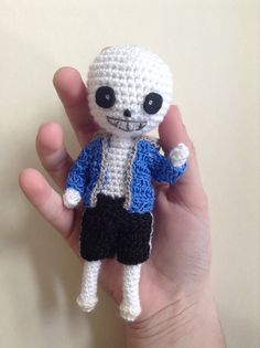 Undertale Sans Amigurumi by SjayCrochet on Etsy