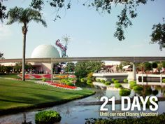 """21 Days until our next Disney Vacation!  We are counting the days to our next Disney trip with our favorite pics taken at the parks. This photo was taken in Epcot. Let us know if you """"Like""""."""