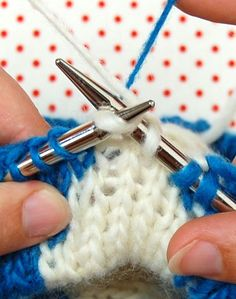 A tutorial on intarsia knitting. Not as hard as one would think.