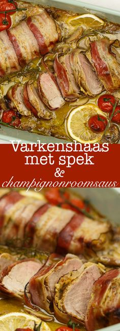Dutch Recipes, Cooking Recipes, Easy Recipes, Food Vans, Multicooker, Pork Dishes, Food Inspiration, Tapas, Catering
