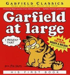 Garfield, this classics book can be found on Overstock.com.