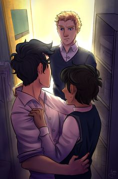Jason Not Happy Finding Percy and Nico Together
