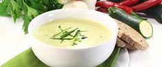 Supa de dovlecel cu usturoi